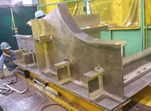 アルミニウムを主材料とする大型部材の試作開発