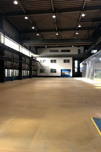 アッセンブリー工場を1,600㎡増設